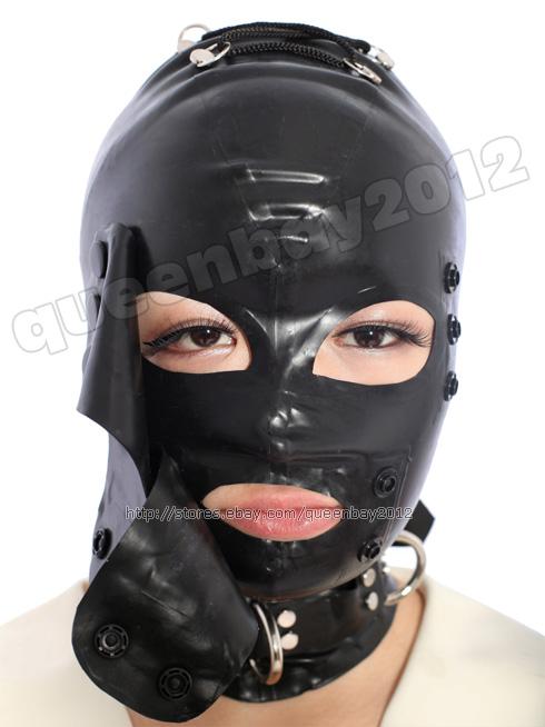 Black Latex Mask 34