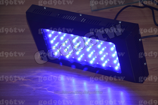 New 1x 120w dimmable led aquarium tank light marine coral for Black light for fish tank