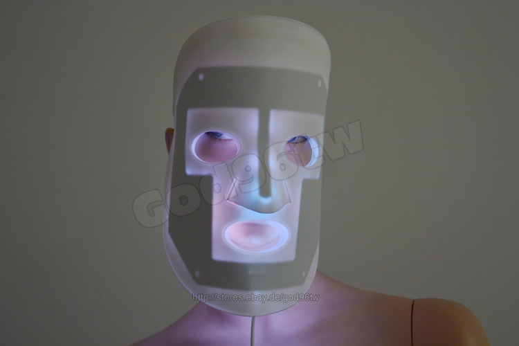 Details about led skin rejuvenation therapy mask photon photodynamics