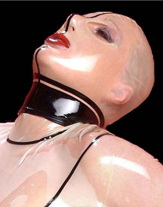 latex mask rubberdoll