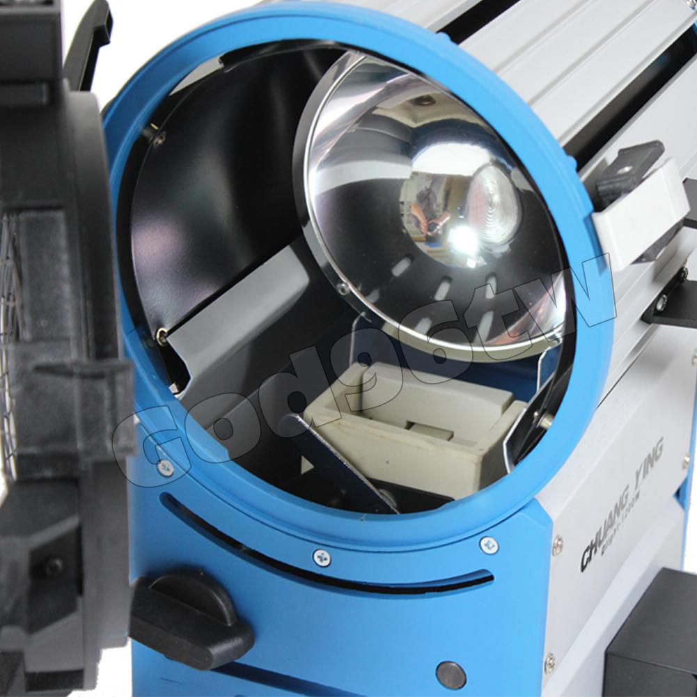 New! 1200W 1.2k HMI Fresnel Light+Electronic Ballast+Bulb+ Aluminum Case Lighting As arri Compact Kit Professional