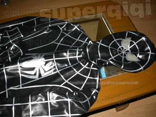 suit Latex spiderman