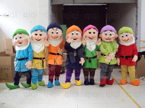 7 dwarfs costumes images on vegetables