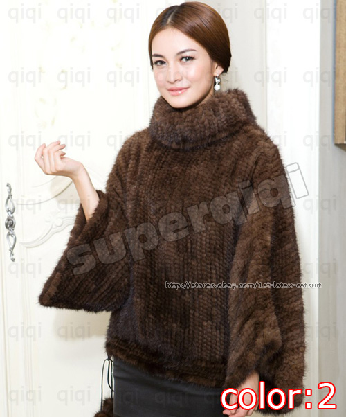 Knitted Mink Jacket