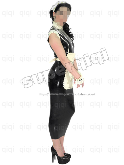 Latex Maid Uniform 84