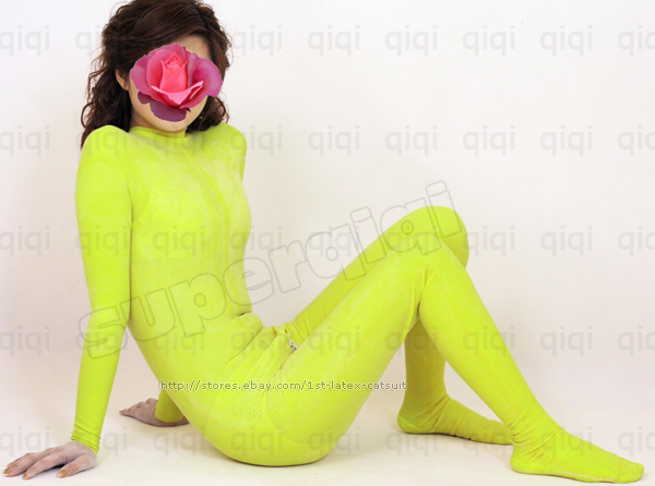Latex-rubber-Catsuit-suit-costume-female-male-bodysuit