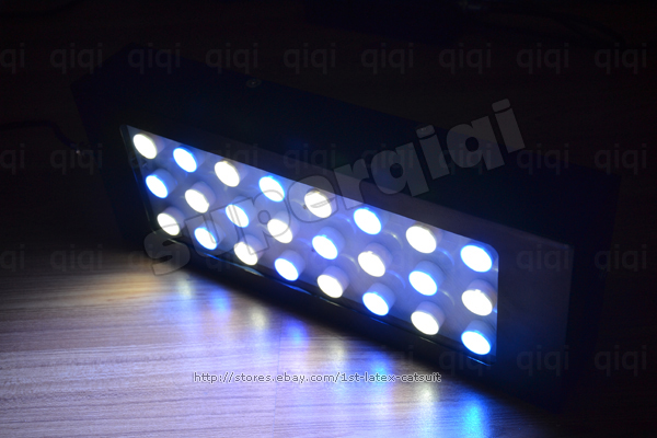 cree dimmable 1x72w led aquarium tank marine coral reef. Black Bedroom Furniture Sets. Home Design Ideas