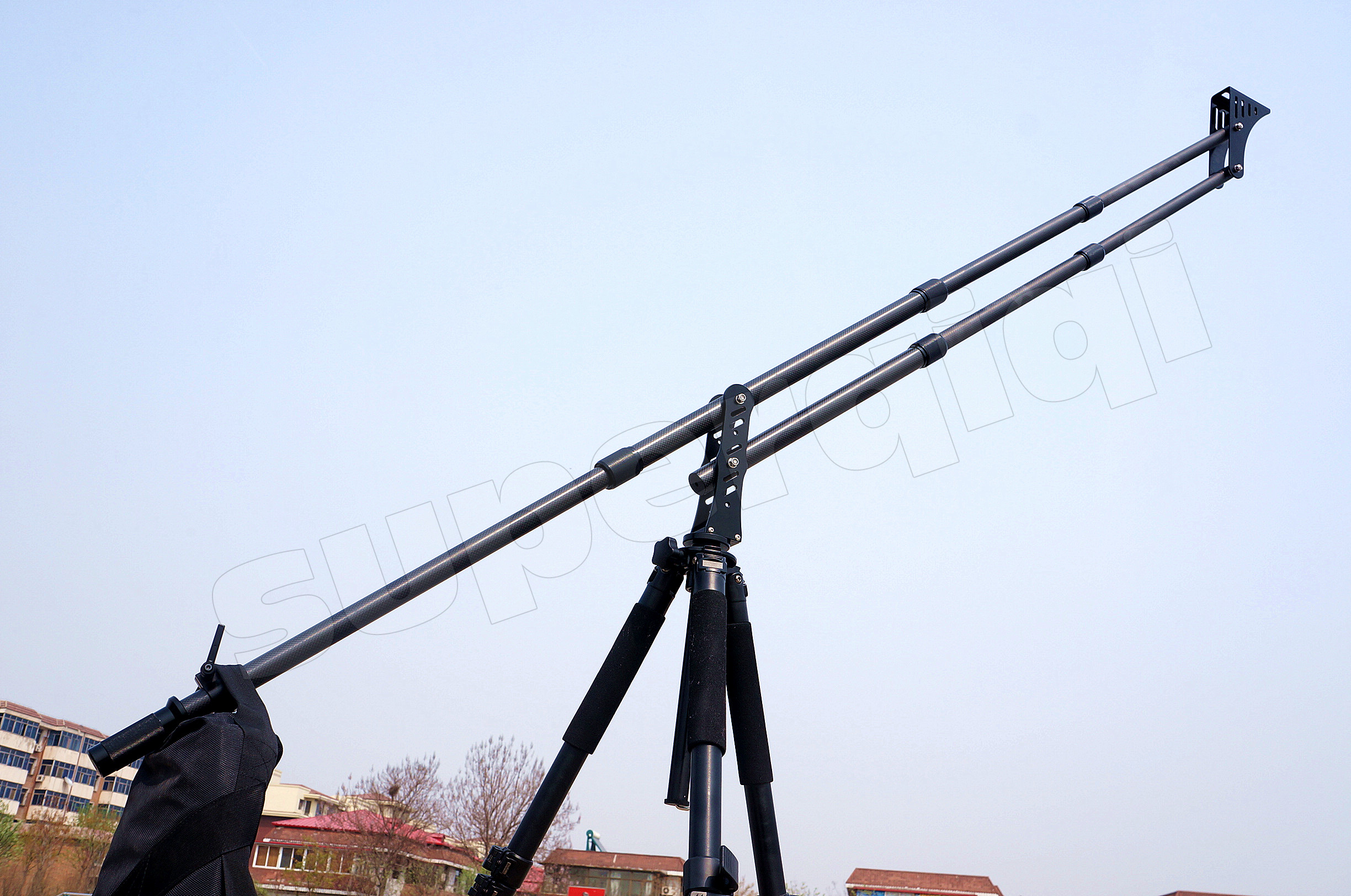 Small Jib Crane : Upgraded ft portable mini carbon fiber crane jib arm