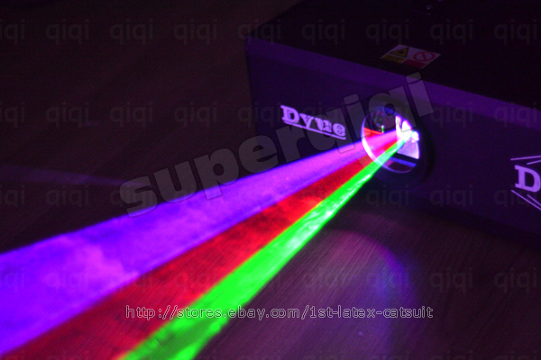 Brand New 1x 1000mW(1Watt) RGB Full Color Animation Laser Light Stage Lighting.