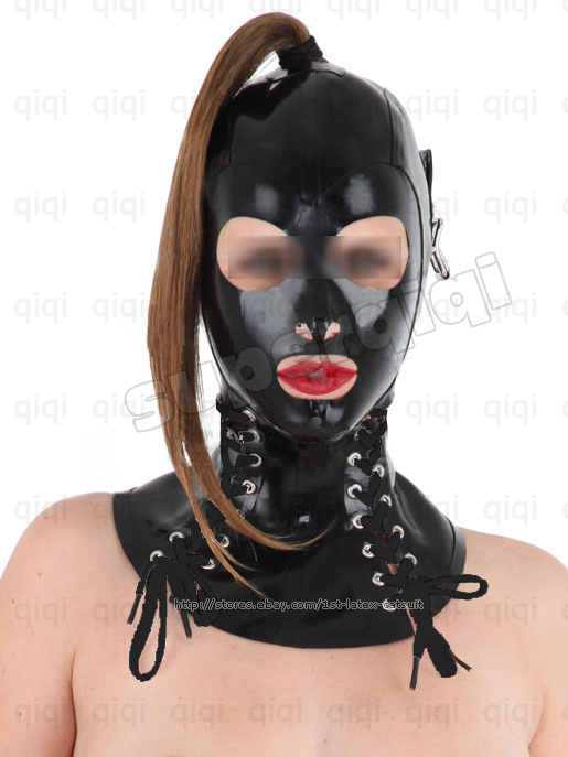 Latex sex mask