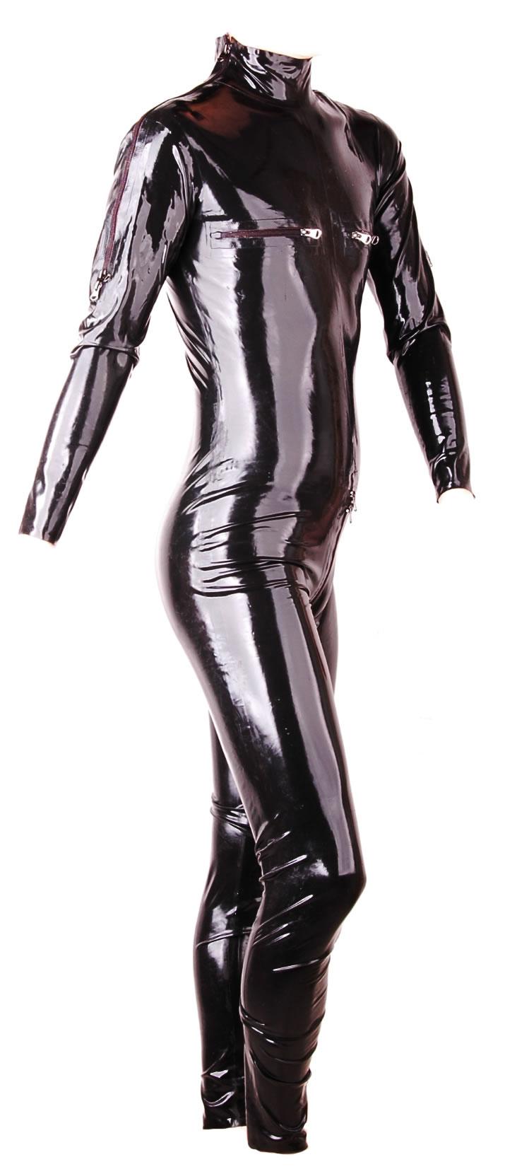 Latex zentai suit