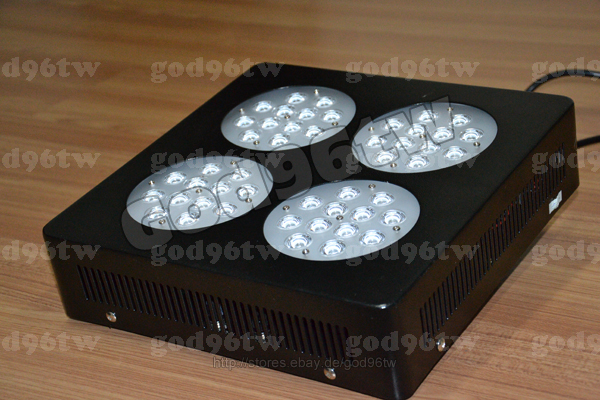 new 1x144w led dimmbar aquarium tank beleuchtung lampe licht fische grow new ebay. Black Bedroom Furniture Sets. Home Design Ideas