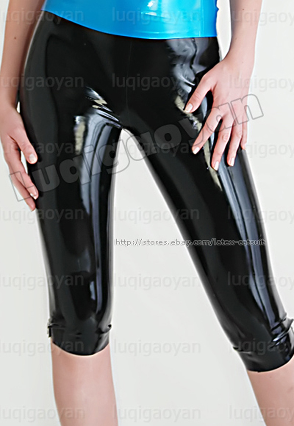 Latex Rubber Shorts