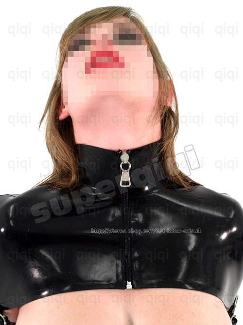 Latex/Rubber 0.8mm Straight Jacket Coat catsuit binder | eBay